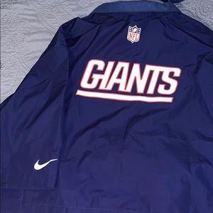 NY Giants Nike Shirt Jacket